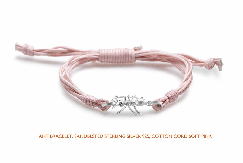 Ant cotton softpink silver