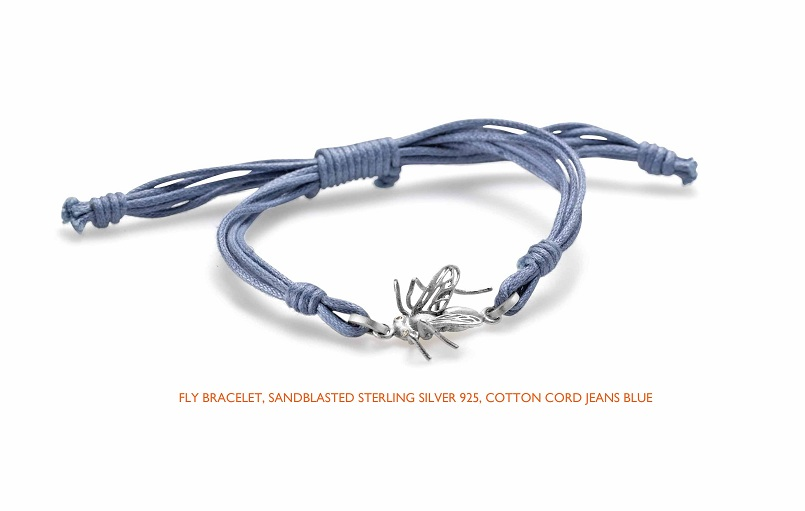Fly cotton blue silver